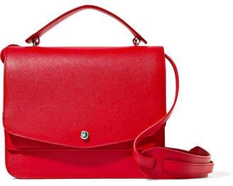 Elizabeth and James Eloise Textured-leather Shoulder Bag