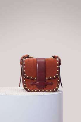Vanessa Bruno Gemma leather mini messenger bag
