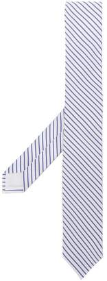 MSGM diagonal striped tie