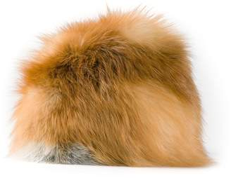 Christian Dior Pre-Owned 1980's fox fur hat