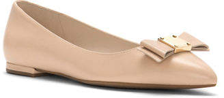 Cole Haan Tali Bow Leather Skimmer Flats