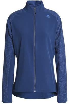 adidas Printed-paneled Stretch Jacket