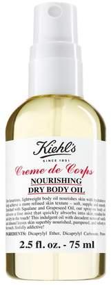 Kiehl's Creme de Corps Nourishing Dry Body Oil - 2.5 fl. oz. - Travel Size