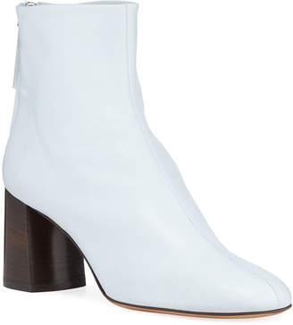 3.1 Phillip Lim Nadia Soft Leather Block-Heel Booties