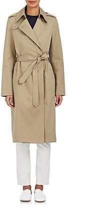 Helmut Lang Women's Cotton-Linen Trench Coat $795 thestylecure.com