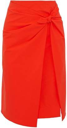 Emilio Pucci Knotted Crepe Skirt