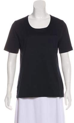 Akris Scoop Neck T-Shirt