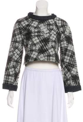 Timo Weiland Printed Crop Top