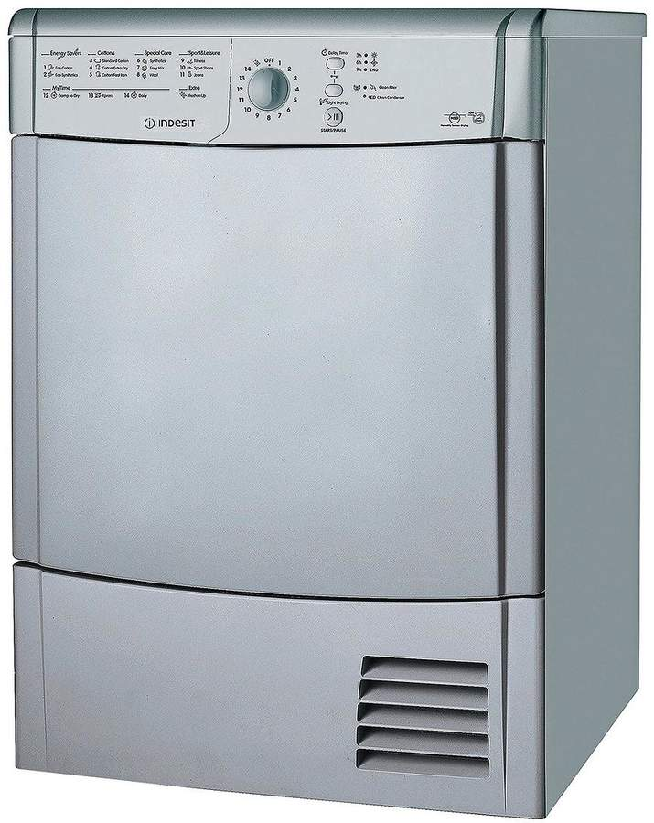 IDCL85BHS 8kg Load Condensor Sensor Tumble Dryer - Silver