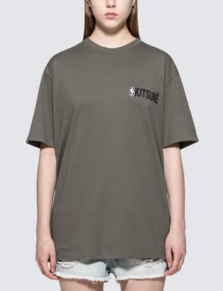 MAISON KITSUNÉ NBA Kitsune S/S T-Shirt