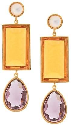 Lizzie Fortunato jewel drop earrings