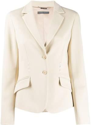 Alberta Ferretti single-breasted fitted blazer