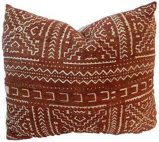 One Kings Lane Vintage African Mud Cloth Pillow
