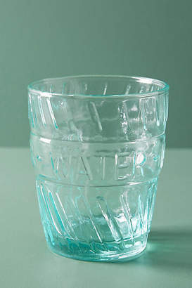Anthropologie Riviera Water Glasses, Set of 4