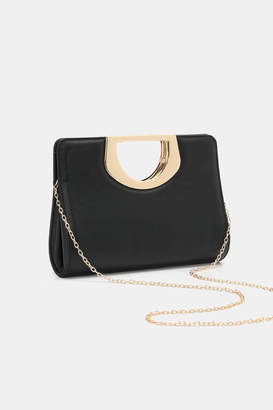 Ardene Cut-Out Handle Clutch
