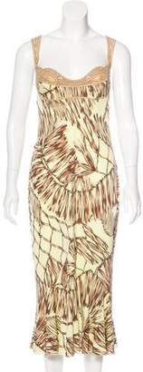 Versace Sleeveless Midi Dress