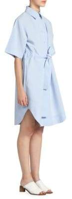Acne Studios Women's Della Shirtdress - Blue - Size 34 (2)