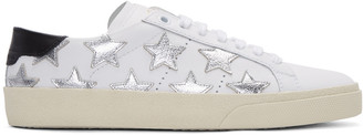 Saint Laurent Off-White Court Classic SL/06 California Sneakers $595 thestylecure.com