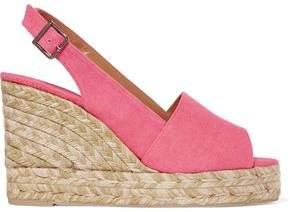 Castaner Bella Canvas Wedge Espadrille Sandals