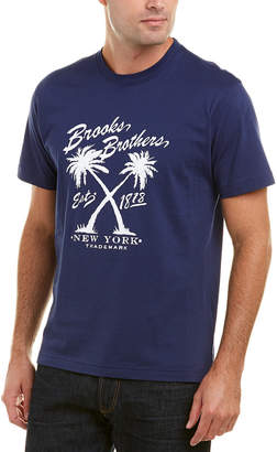 Brooks Brothers 1818 Vintage Palm T-Shirt