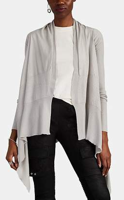 Rick Owens Women's Cashmere Wrap Cardigan - Light Gray