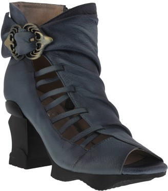 Spring Step L'Artiste by Leather Booties - Nesgara