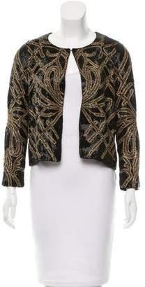 Haute Hippie Silk Embellished Jacket