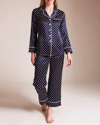 Bracli Olivia Von Halle Lila Don Silk Pajama