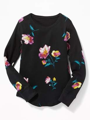 Old Navy Long & Lean Thermal Tee for Girls
