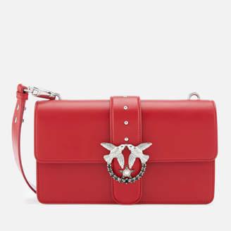 Pinko Women's Love Simply Bag - Red