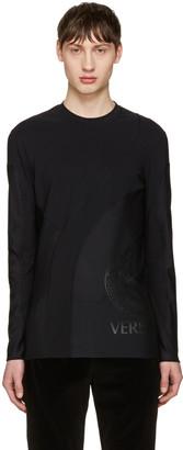 Versace Underwear Black Active T-Shirt $425 thestylecure.com
