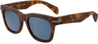Rag & Bone Men's Dagger-Hinge Acetate Sunglasses
