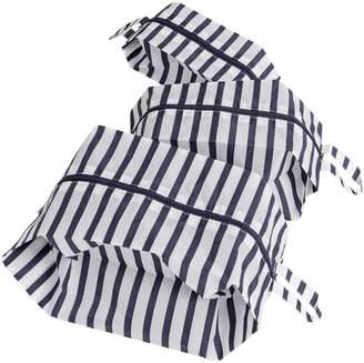 Baggu 7-30490-23418-9 Sailor Stripe Travel Pouch Set