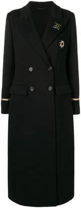 Ermanno Scervino double breasted maxi coat