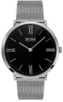 HUGO BOSS QTZ Stainless Steel Bracelet Governor Watch