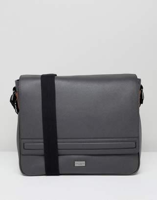 Ted Baker Tokey Messenger Bag in Crossgrain