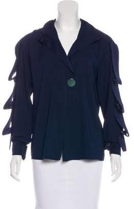Celine Long Sleeve Button-Up Blouse