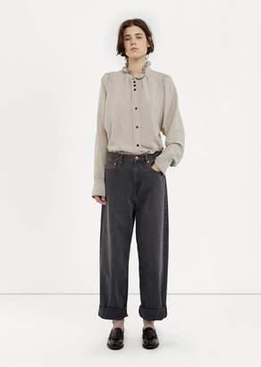 Etoile Isabel Marant Corby Boyfriend Jeans Grey