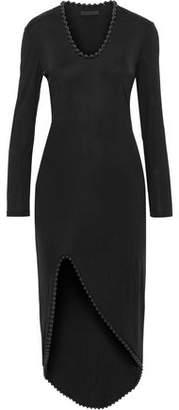 Alexander Wang Bead-Trimmed Jersey Dress