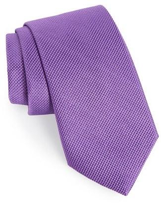 Men's Nordstrom Men's Shop Solid Silk Tie $49.50 thestylecure.com