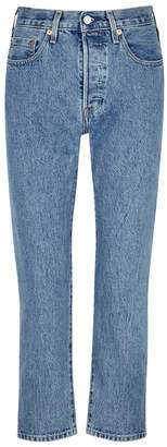 Levi's 501 Cropped Selvedge Jeans