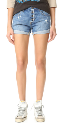 One Teaspoon Salty Sailor Charger Shorts $119 thestylecure.com