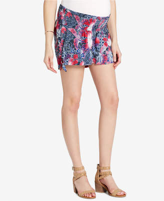Jessica Simpson Maternity Smocked Shorts