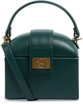 Rodo Leather Elaphe Box Clutch Bag