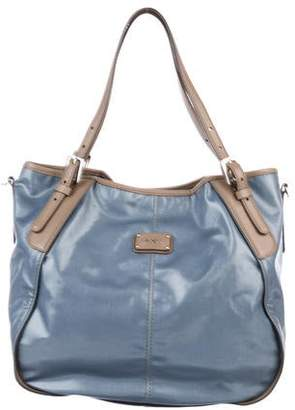 00cd55a935b80 Tod's Coated Canvas Bag - ShopStyle