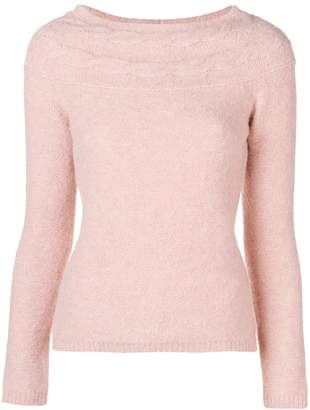 Blugirl cable knit slim jumper