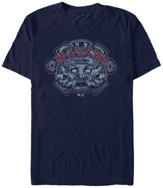 Mayans Men M.c Classic Airbrushed Ancient Symbol Short Sleeve T-Shirt