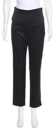 Chanel Mid-Rise Straight-Leg Pants
