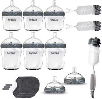 Baby Brezza Glass Baby Bottle 14-Piece Gift Set