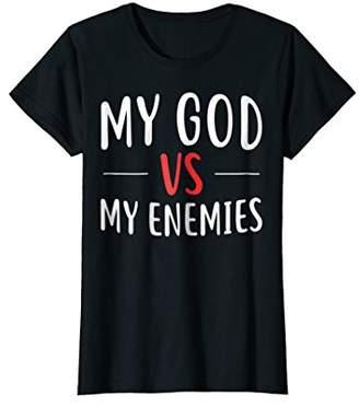 Victoria's Secret Womens My God My Enemies Shirt